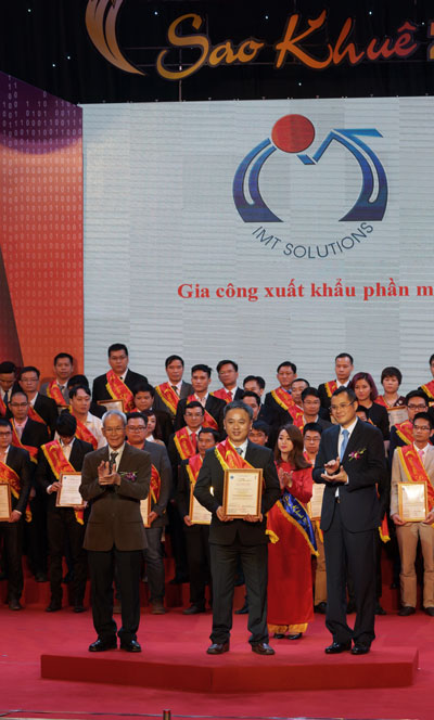 IMT won Sao Khue award for its software outsourcing services